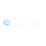 Joseph Bisharat - jQuery Logo On Dark